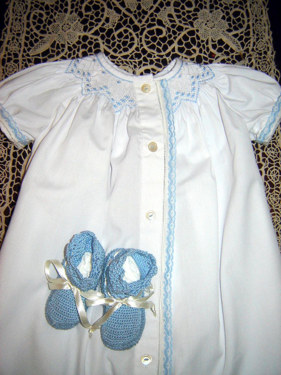 Smocked Boy Daygown Janice Ferguson Sews