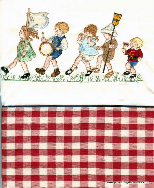 4th parade pillowcase