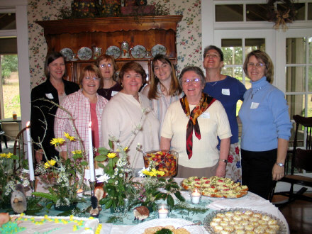 PGM's host a baby shower for my daughter-in-law Shelly, the young one in the center with the long hair