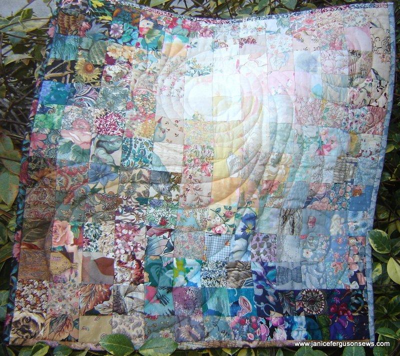 Book Cover Watercolor Quilt : Rebecca s watercolor quilt janice ferguson sews