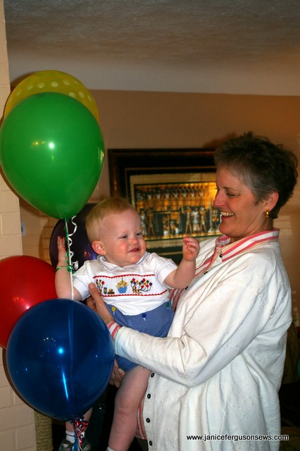 """Alastair with his beloved Auntie Jeannette, AKA """"NanNan"""""""