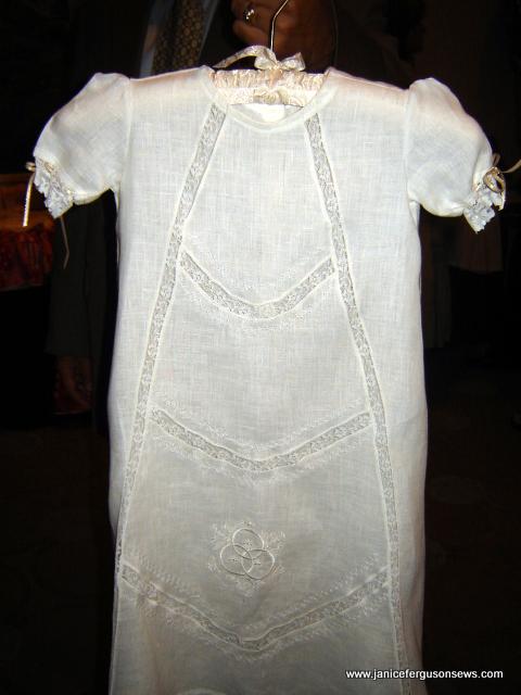 christening linen