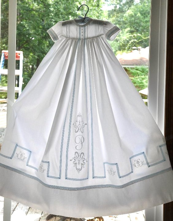 Connie christening gown