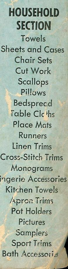 Antique Needlework Catalogue Janice Ferguson Sews