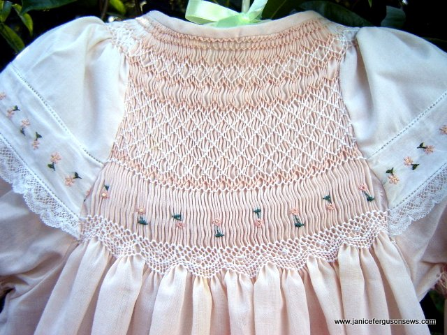 Smocking Design for You | Janice Ferguson Sews