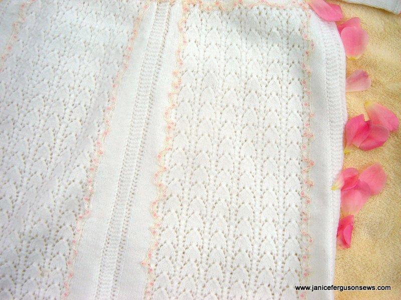 knitted christening EcloseBrite