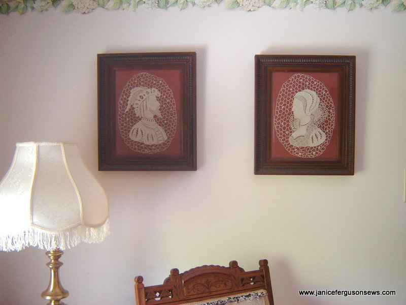 antique lace portraits 2