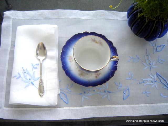 blueSW placematw napkin