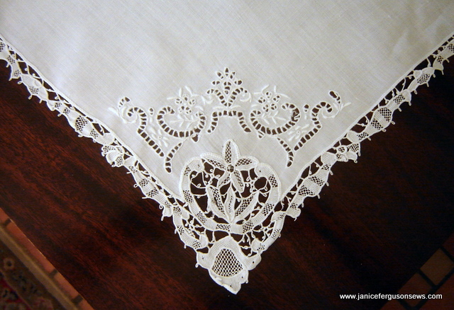 needle lace and cutwork