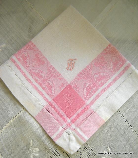 pink damask border all