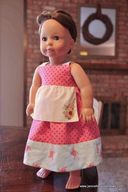 contemporary cute doll dress