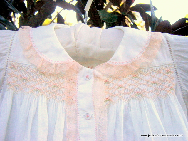 ant pink lace daygown close2