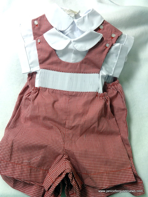 $30 + postage, insurance at buyer's discretion. Two Martha Pullen Smockable rompers, one 6 months, one 18 months.  Priced at $40 when they were available.