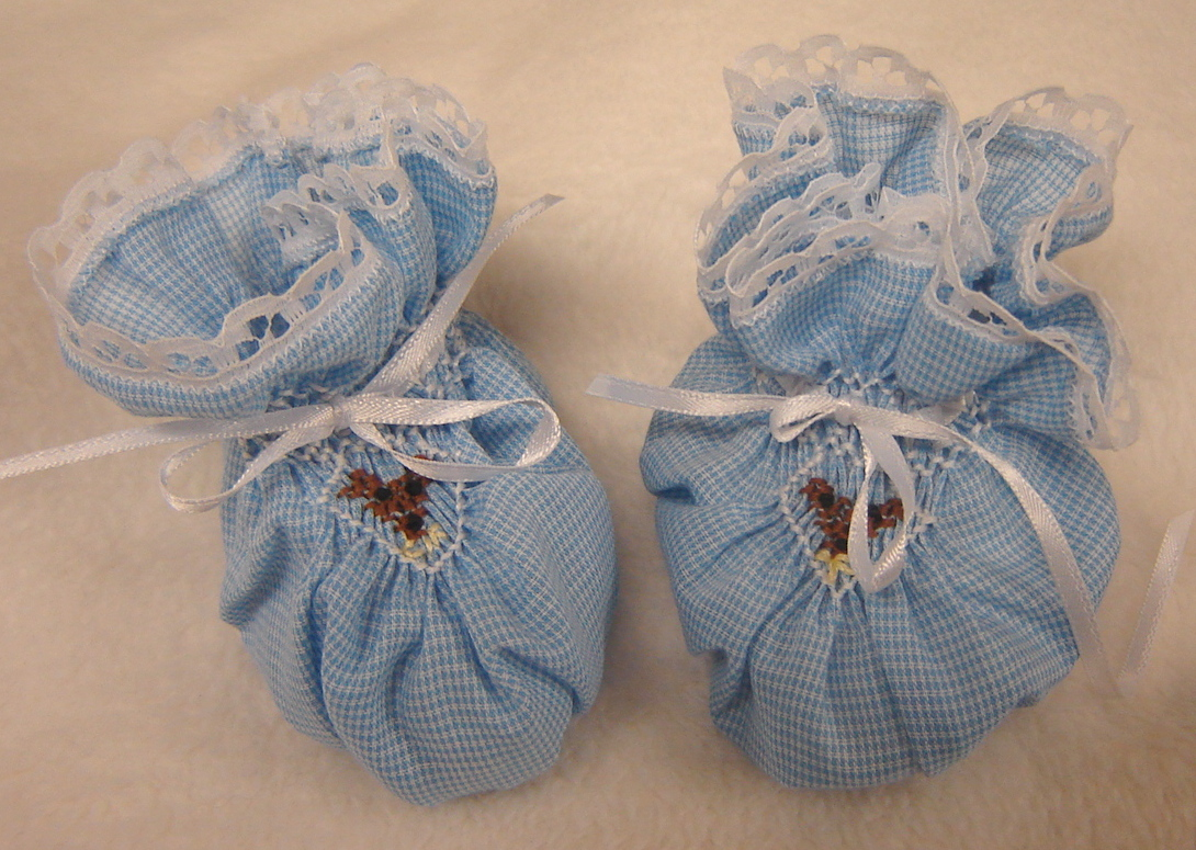 booties smocked