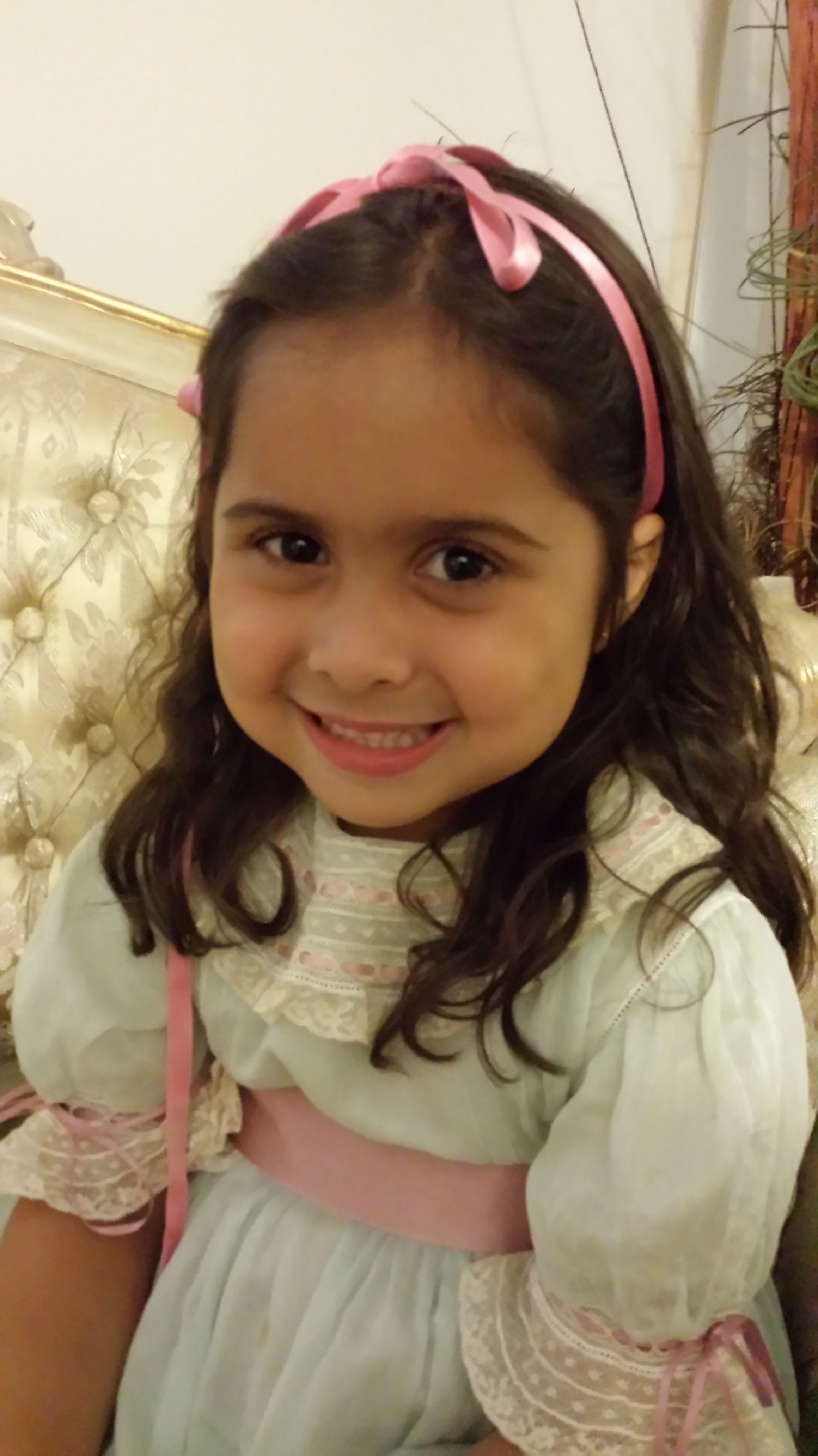 Aliya, newly turned 4 years old