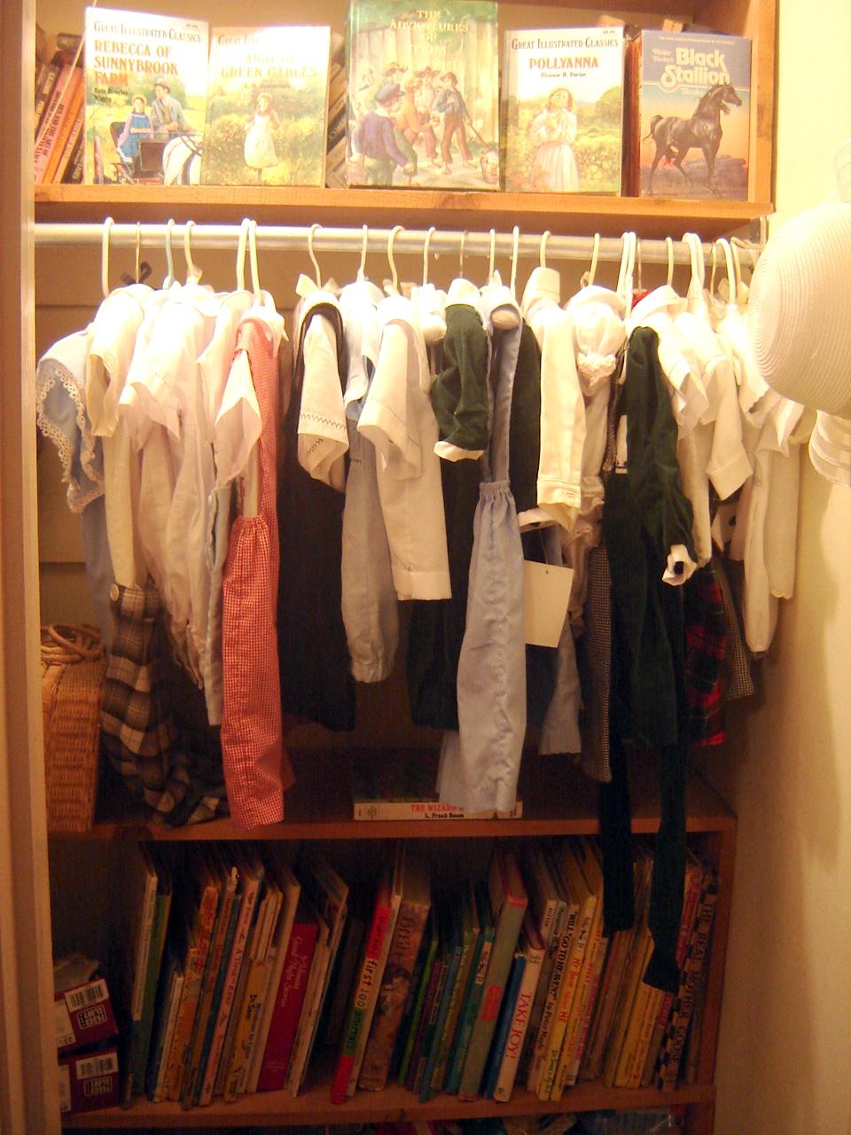 closet vert