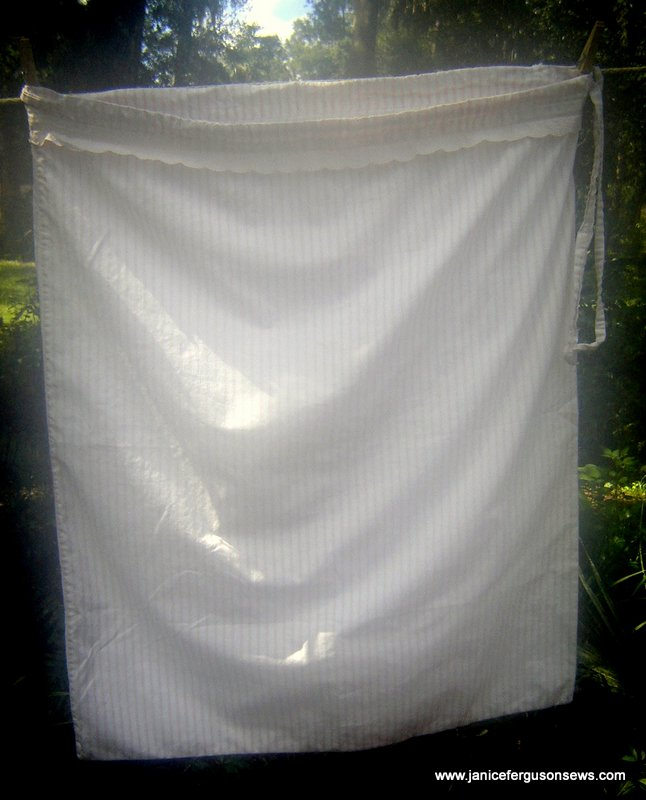 Rebecca's sturdy, 16 year old laundry bag