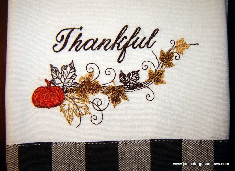 thankful towelcr