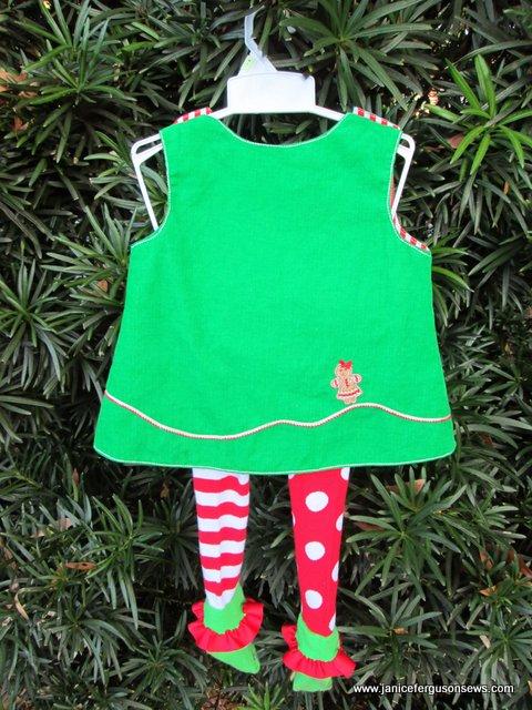 Gingerbread Christmas Dress Janice Ferguson Sews
