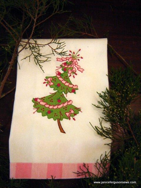 crocked Christmas tree