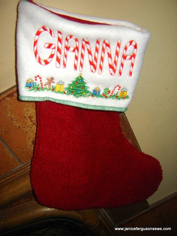 stocking gianna straight