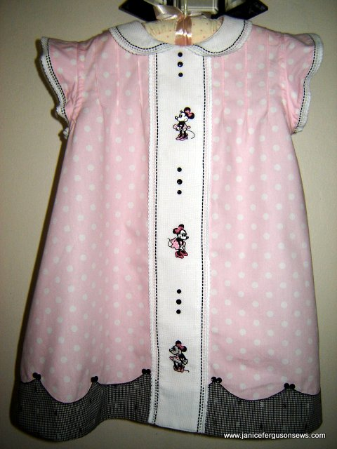 first birthday dress for Minnie fan