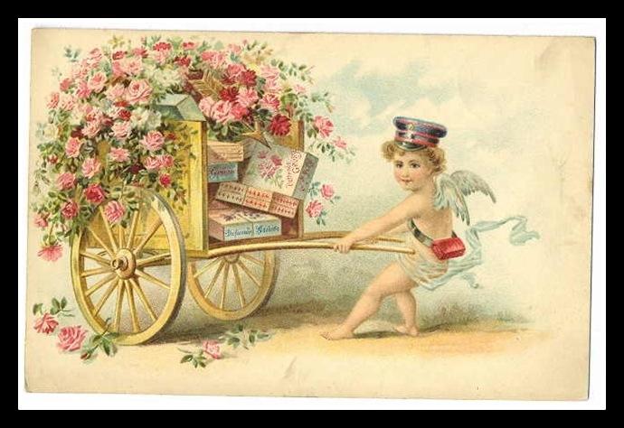 A Valentine Love Story – Vintage Victorian Valentine Cards