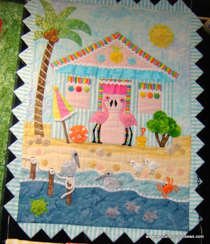 Pattern: Flamingo Cove