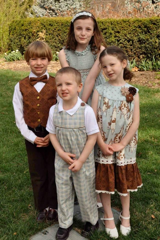 Jo's 4 younger children