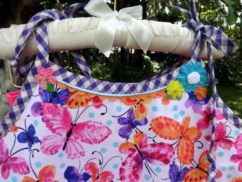 floral top crochet
