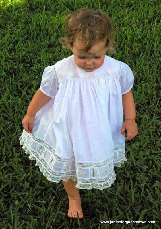 Vivian Rose, 15 months old, Easter 2014