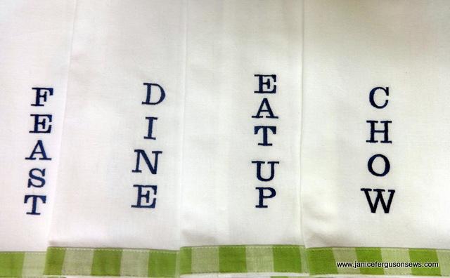 4 napkins