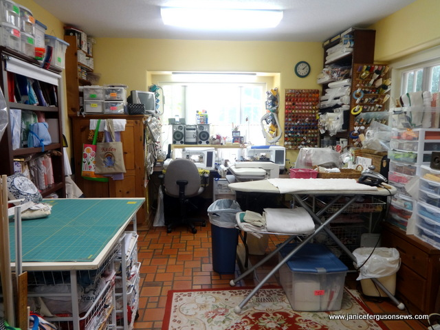 south end sewing room