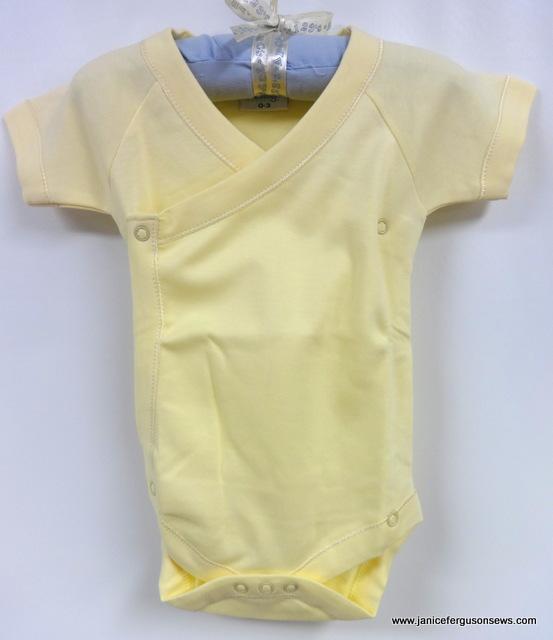 #12  ---$10 size 3 months soft, soft Martha Pullen baby knit.