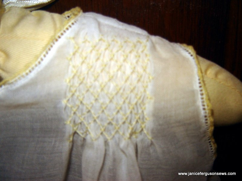 smocking on troublesome diaper shirt