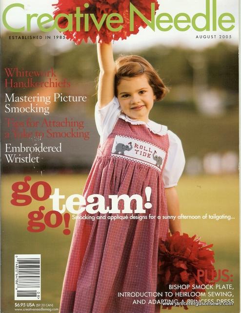 Creative Needle, June, 2005