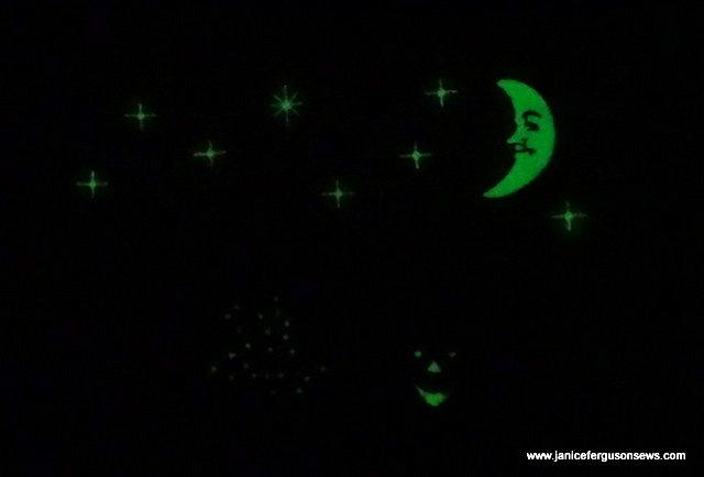1-glow in the dark
