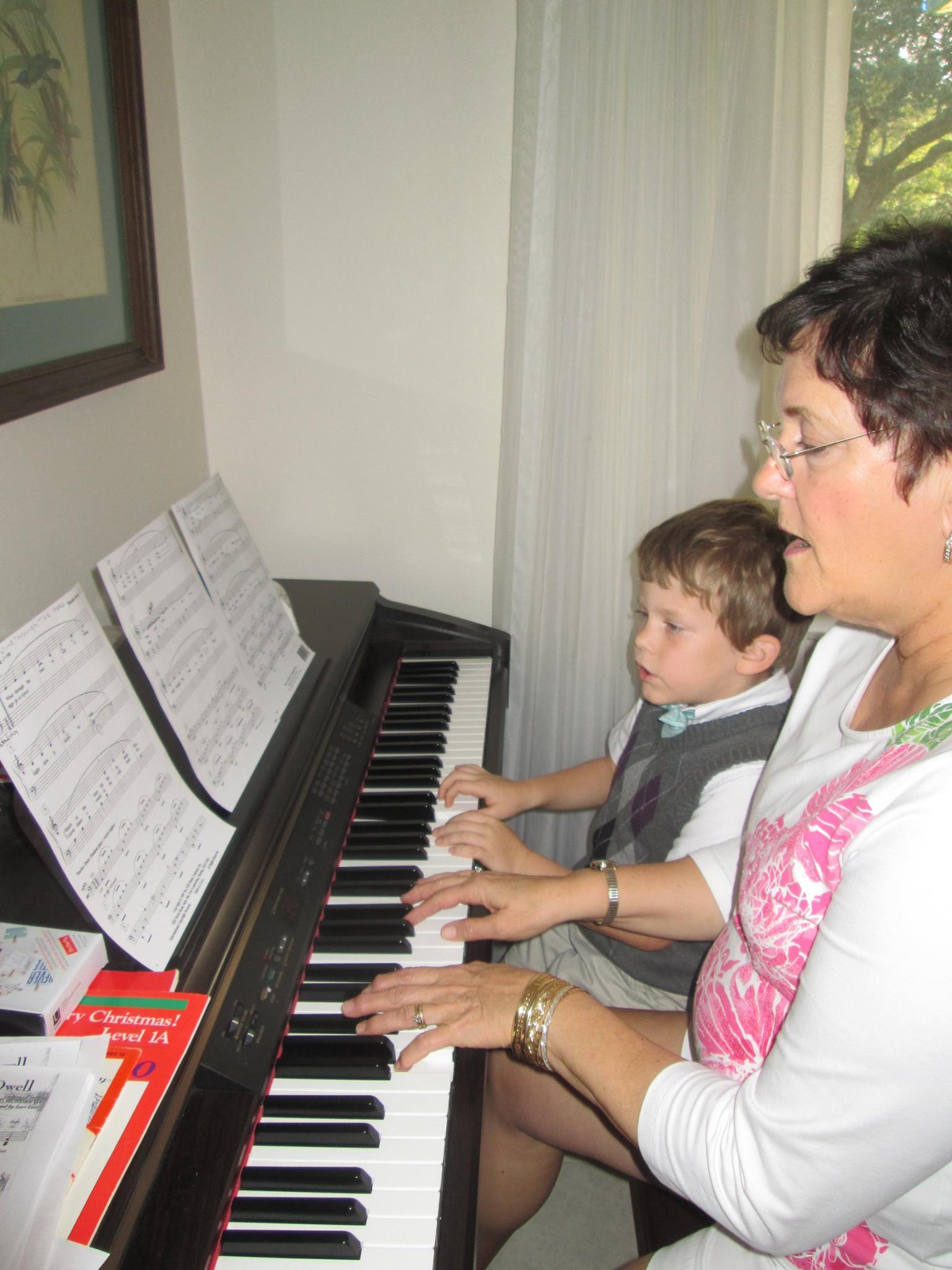 A C piano duet