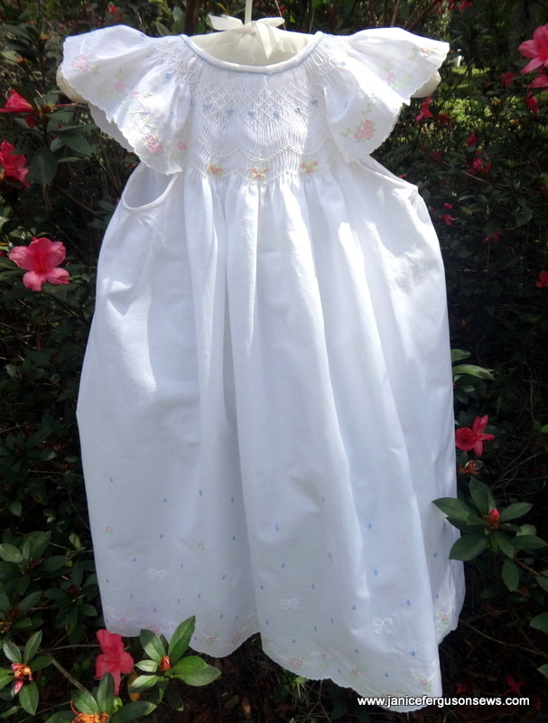 Easter dress for 3 yo Vivian Rose