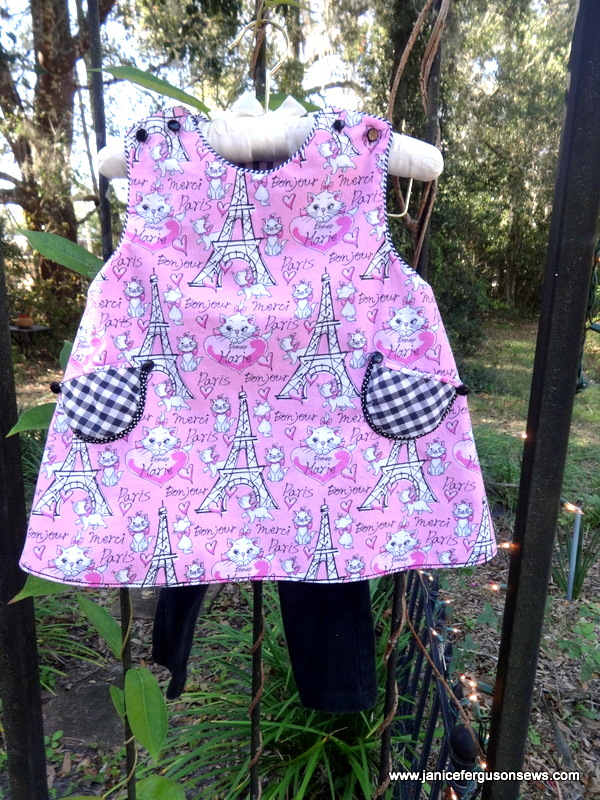 Another CC Lucy--and another kitty cat dress for my kitty cat loving granddaughter.